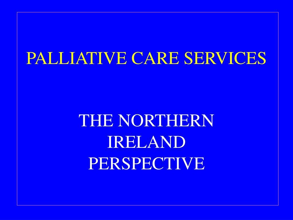 palliative care services l.