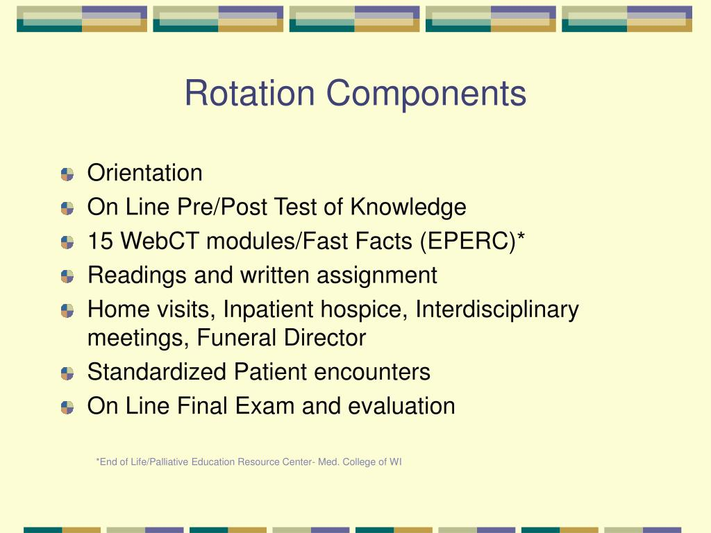 Rotation Components