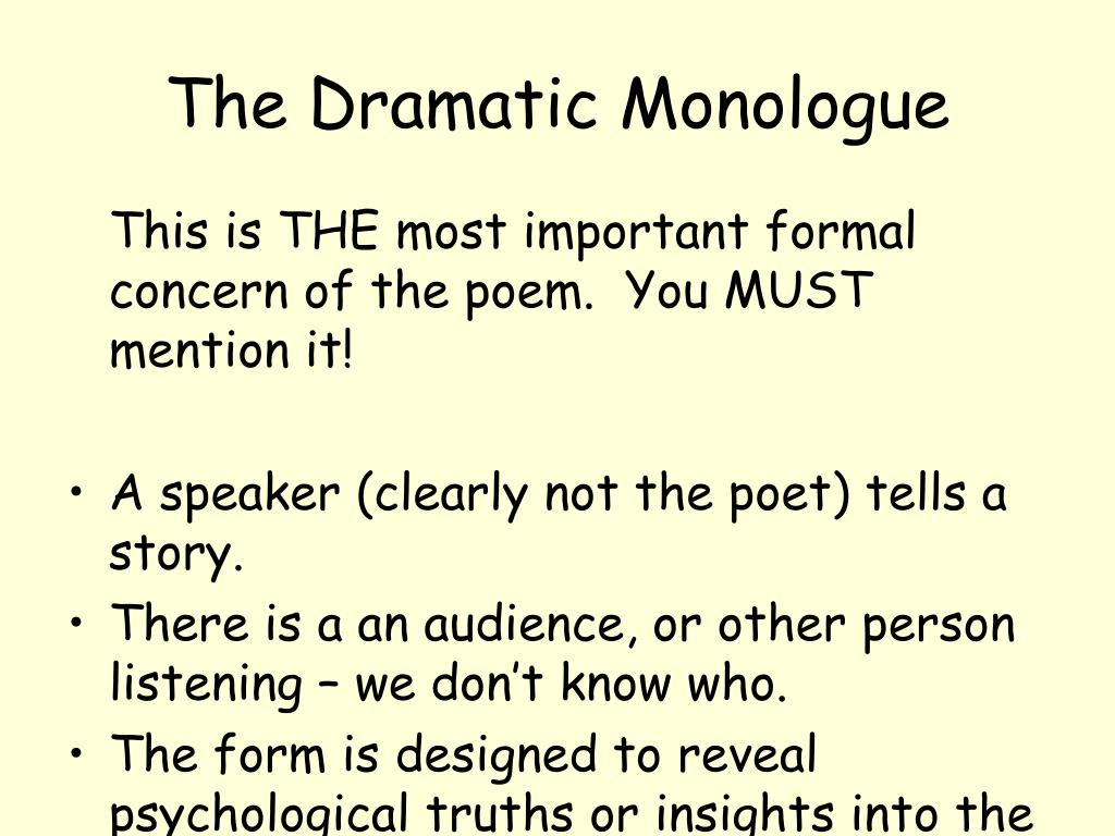 the dramatic monologue in my last duchess a poem by robert browning