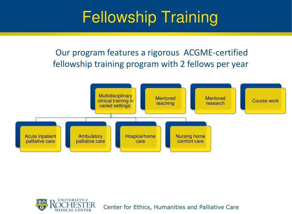 Fellowship Training
