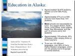 education in alaska