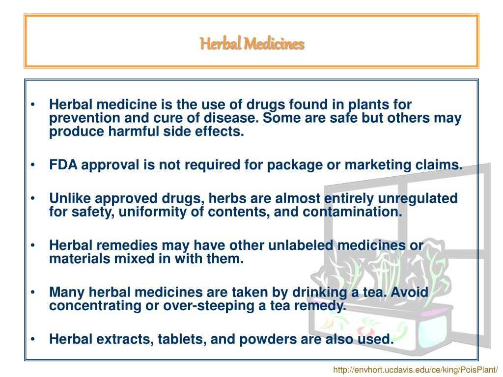 Herbal Medicines