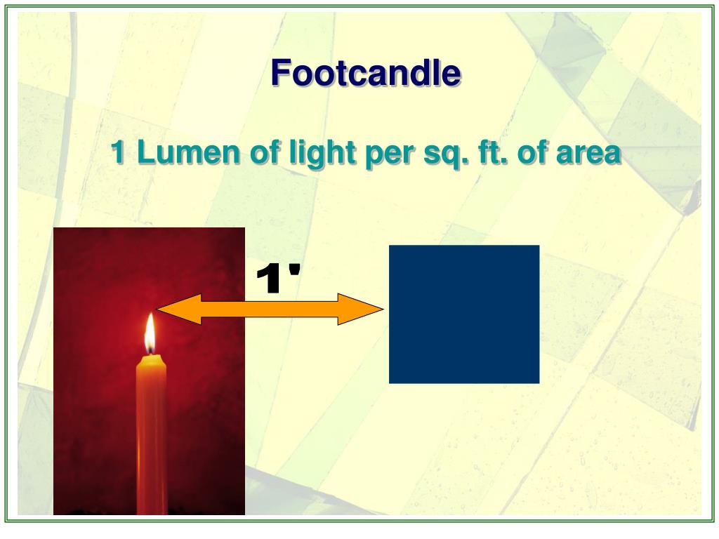 Footcandle