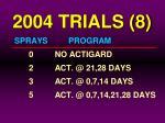 2004 trials 8