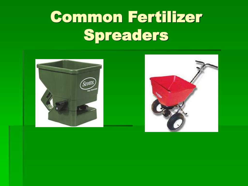 Common Fertilizer Spreaders