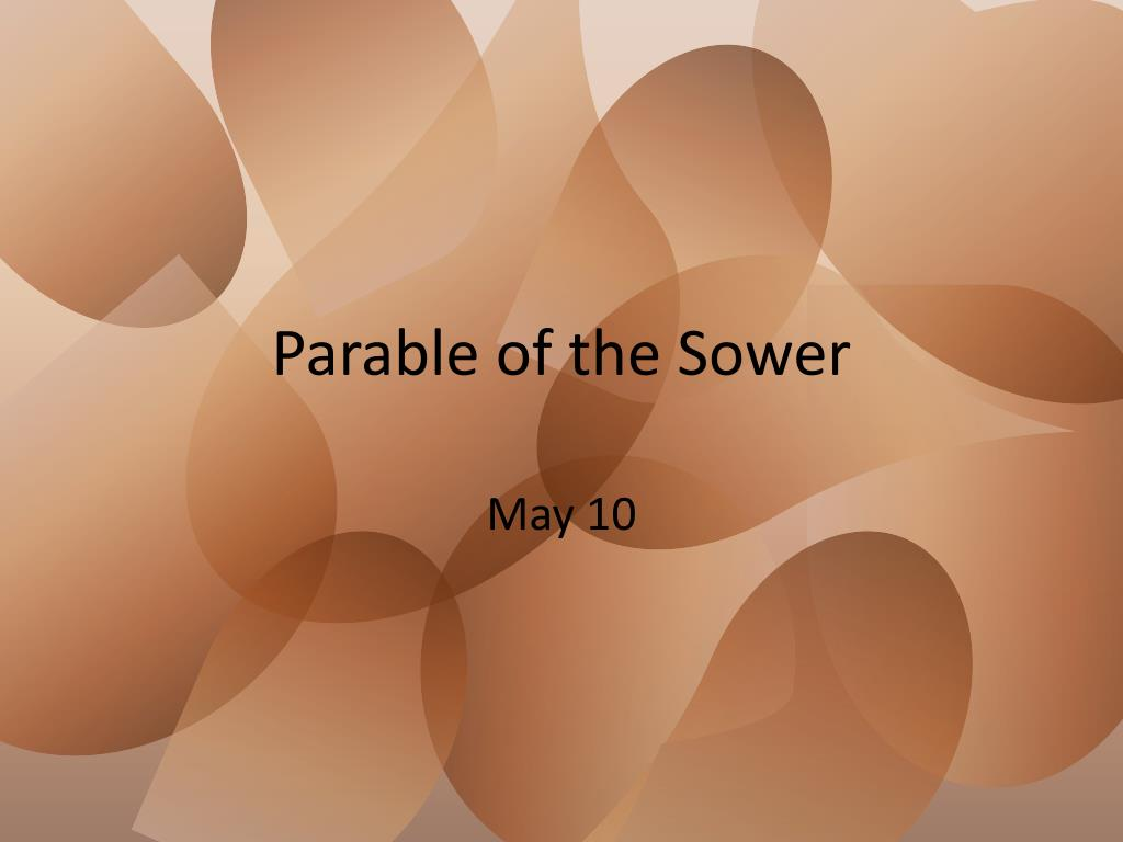 parable of the sower l.