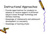 instructional approaches22
