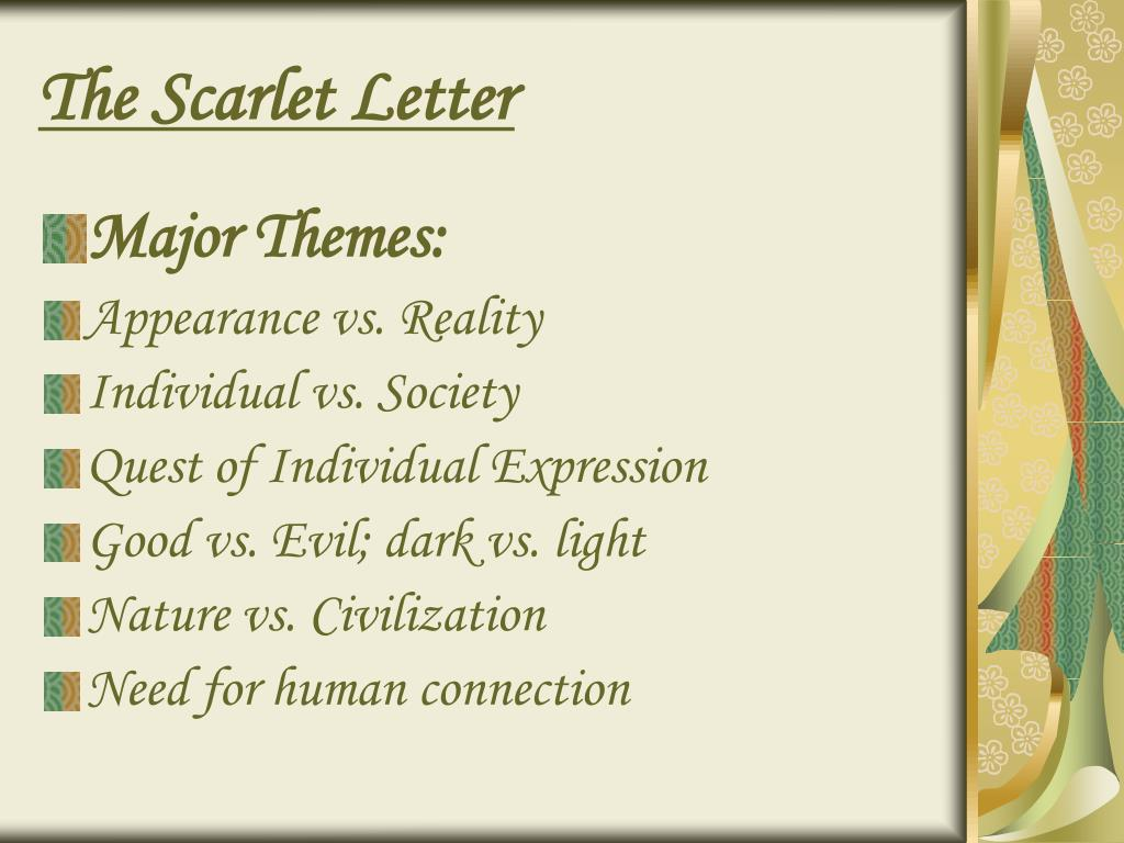 scarlet letter light vs dark essay Free essay on the scarlet letter light and darkness available totally free at echeatcom, the largest free essay community.