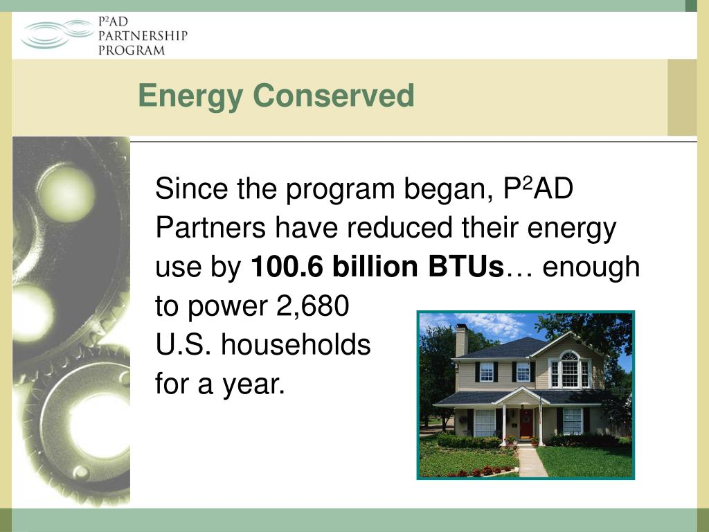 Energy Conserved