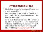 hydrogenation of fats12