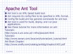 apache ant tool
