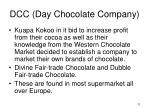 dcc day chocolate company