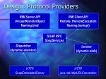 design protocol providers