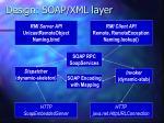 design soap xml layer