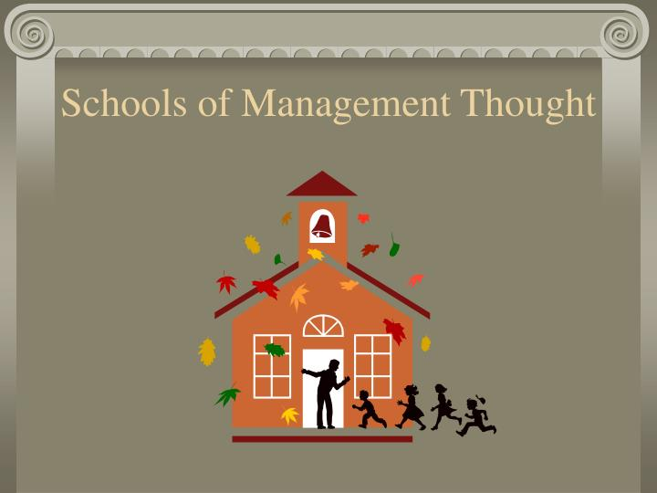 classical school thought of management 2nd global conference on business, economics, management and   a post phd student - academy of economic studies, 15-17 calea  this  paper is meant to follow the long way of classical thought, starting from the basic .