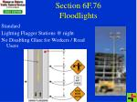 section 6f 76 floodlights32