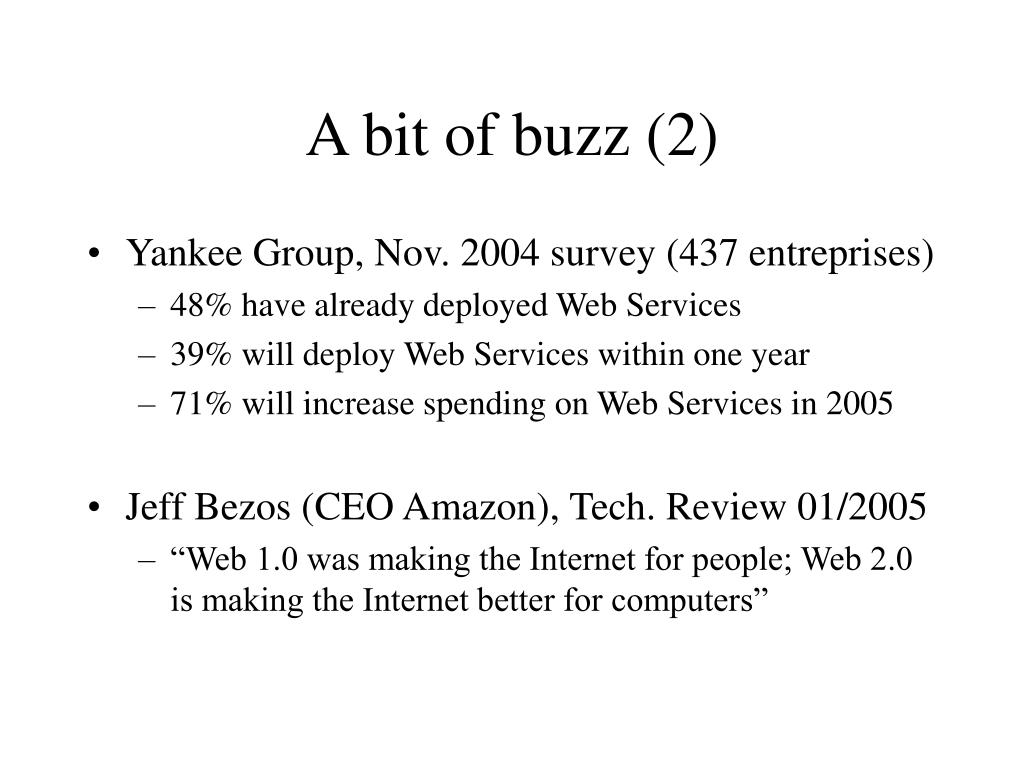 A bit of buzz (2)