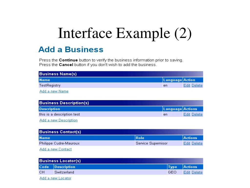 Interface Example (2)