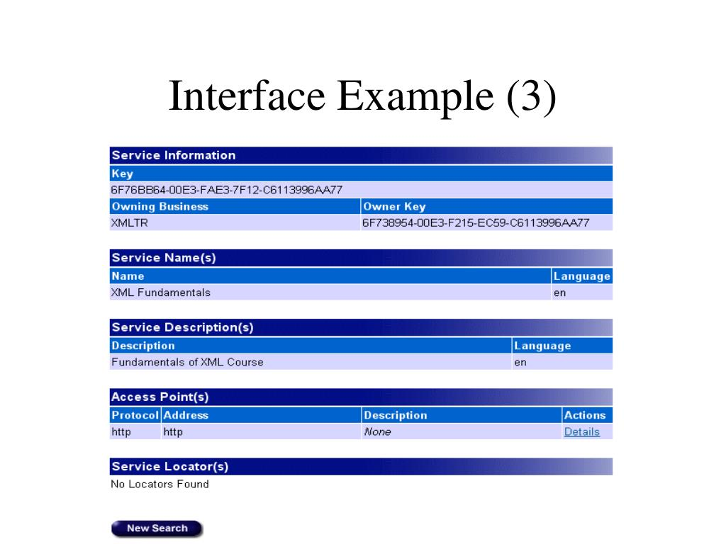 Interface Example (3)