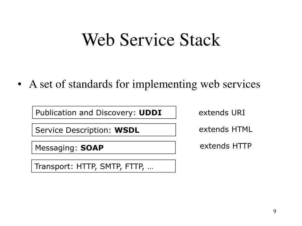 Web Service Stack