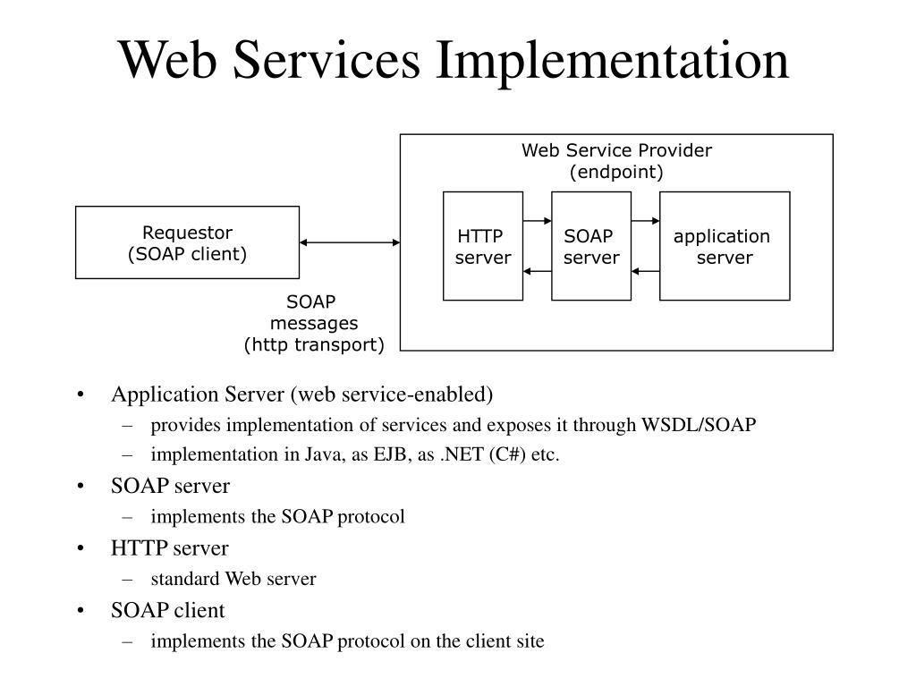 Web Services Implementation