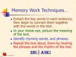 memory work techniques125