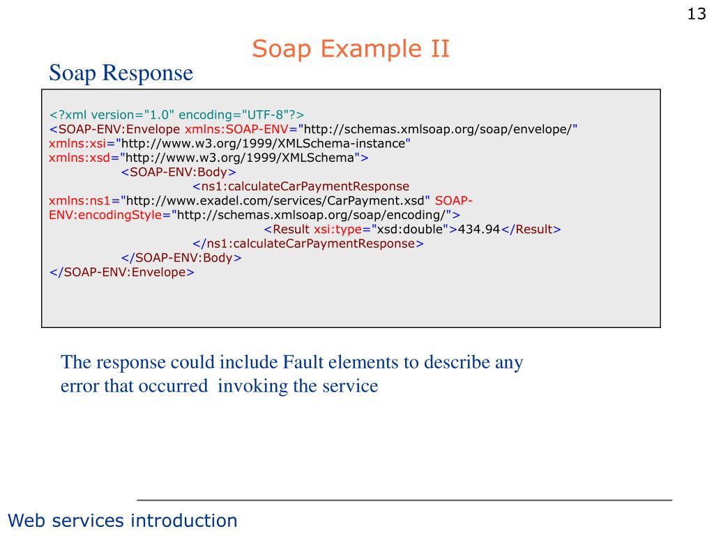 Soap Example II