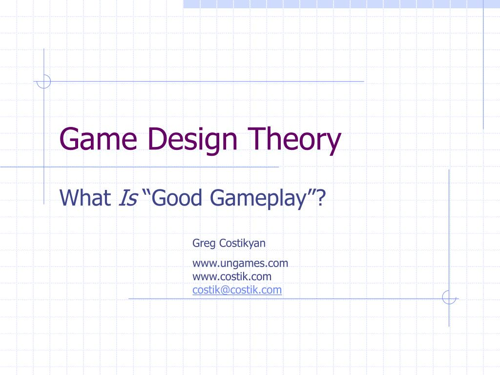 game design theory l.