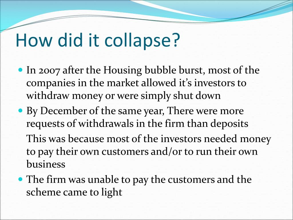 How did it collapse?