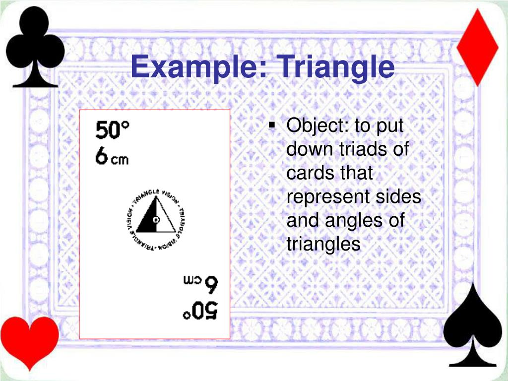 Example: Triangle
