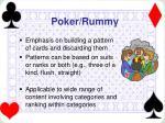 poker rummy