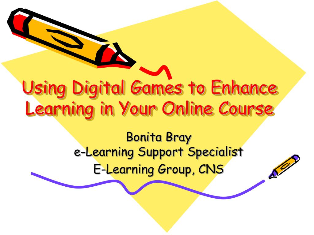 using digital games to enhance learning in your online course l.