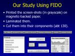 our study using fido14