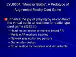 lyu0304 monster battle a prototype of augmented reality card game