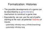 formalization histories
