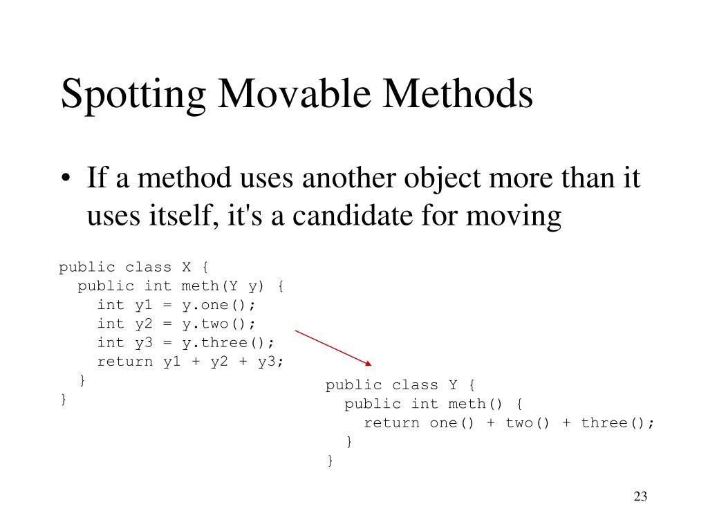 Spotting Movable Methods