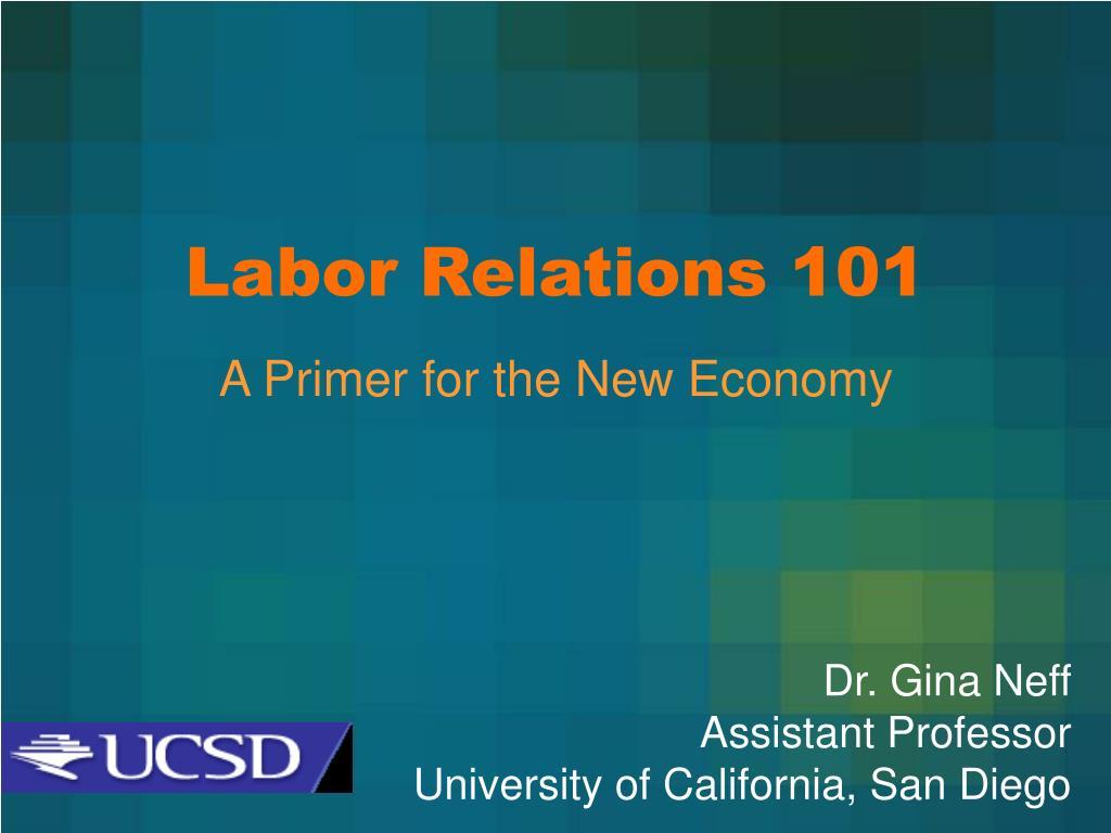 labor relations 101