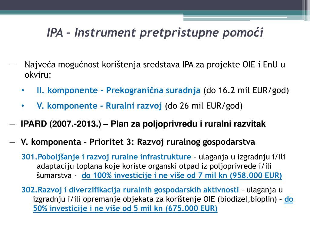 IPA – Instrument