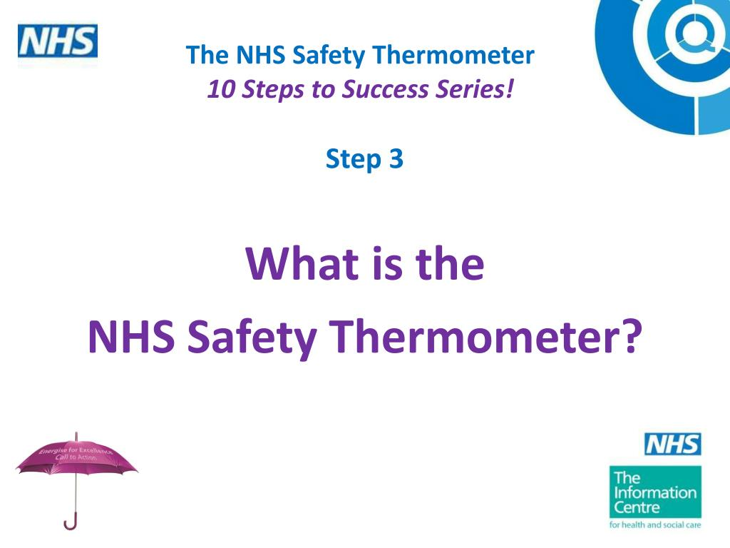 the nhs safety thermometer 10 steps to success series l.