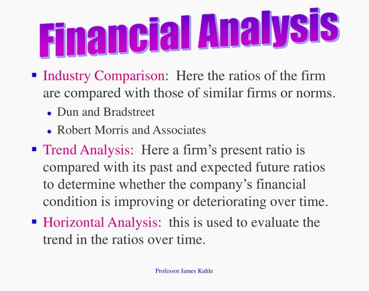 ratio analysis comparison between two companies This is especially useful when you compare two companies that are widely different revenues similarly, all balance sheet items could be reported as a percentage of total assets ratio analysis evaluates the relationship between two or.