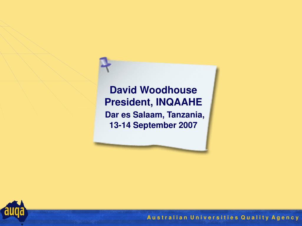 David Woodhouse