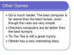 other games