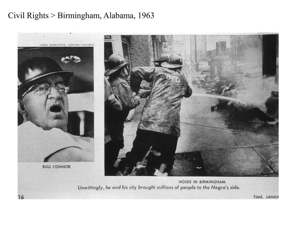 Civil Rights > Birmingham, Alabama, 1963