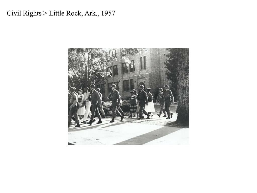 Civil Rights > Little Rock, Ark., 1957