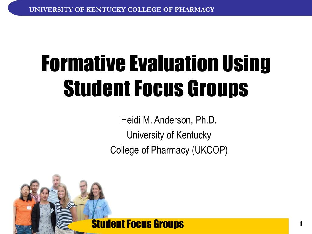 formative evaluation using student focus groups l.