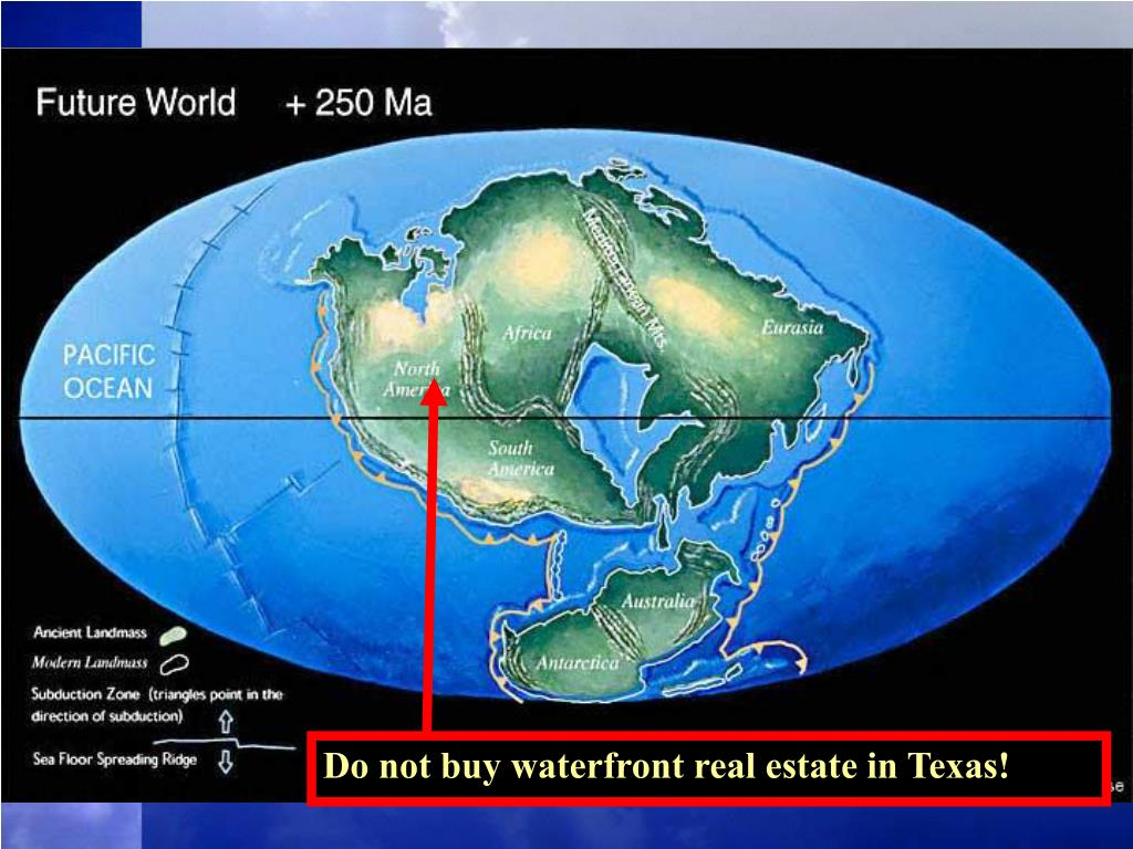 Do not buy waterfront real estate in Texas!