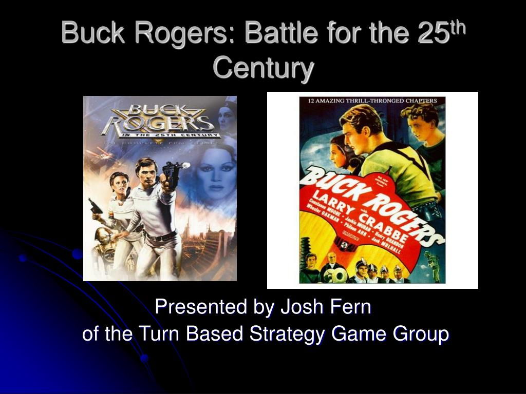 buck rogers battle for the 25 th century l.