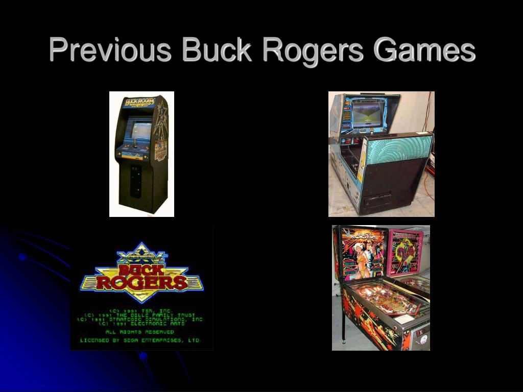 Previous Buck Rogers Games
