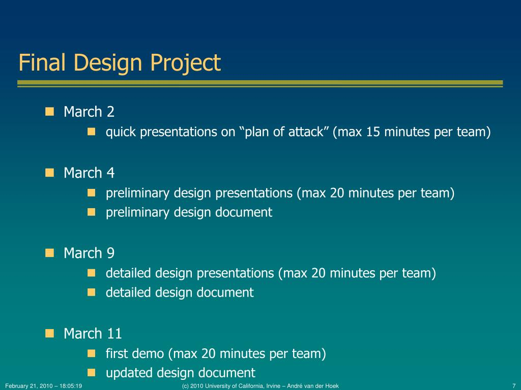 Final Design Project