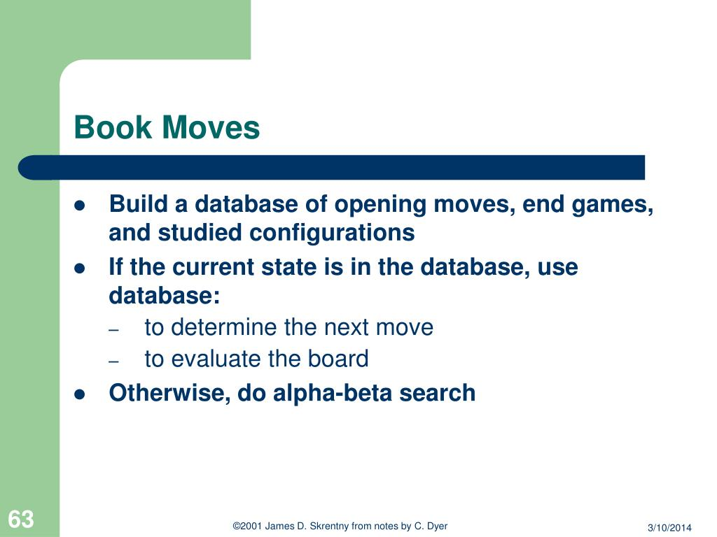 Book Moves